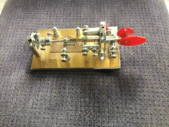 Vibroplex Presentation Model Bug Key