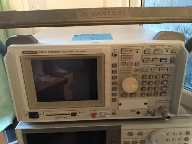 Advantest 26GHz Spectrum Analyser