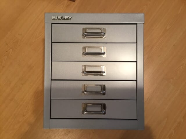 5 Drawer A4 Filing Unit as new.